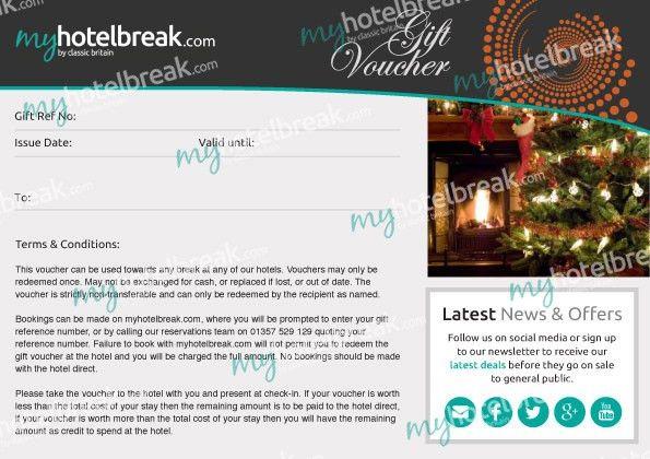 Hotel Gift Vouchers | Hotel Gift Cards UK | myhotelbreak