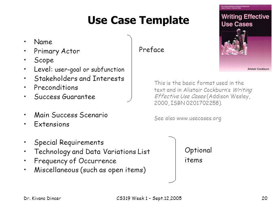 Chapter 6 USE CASES Objectives Identify and write use cases - ppt ...