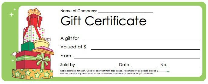 5 Printable Holiday Certificate Templates | Blank Certificates