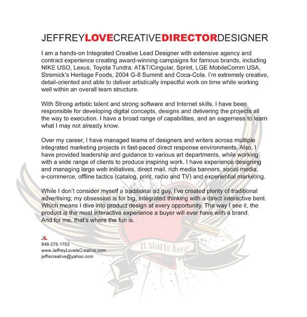 Creative Cover Letter - My Document Blog