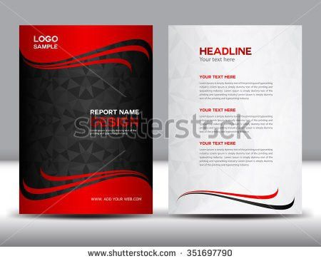 "ganpanjanee's ""Cover & inside annual report template"" set on ..."