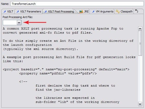 Getting started with the Orangevolt Eclipse XSLT plug-in