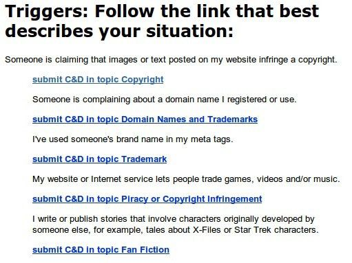 Chilling Effects – A Lesson In DMCA Takedown Notices