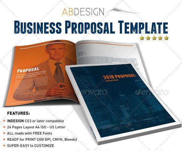 16 Best Proposal Templates – Design Freebies