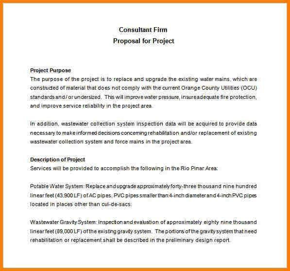 3+ sample proposal template | Proposal Template 2017
