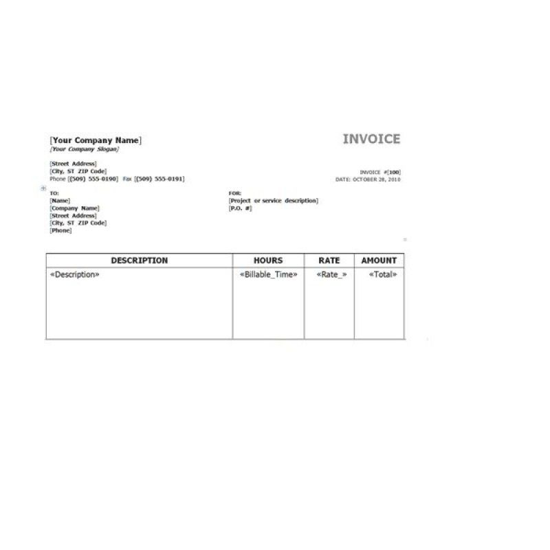 Gst Tax Invoice Template Free   rabitah.net
