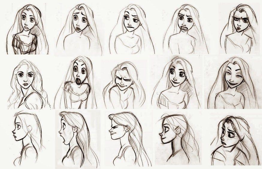 Example character design sketch | Character Design | Pinterest ...