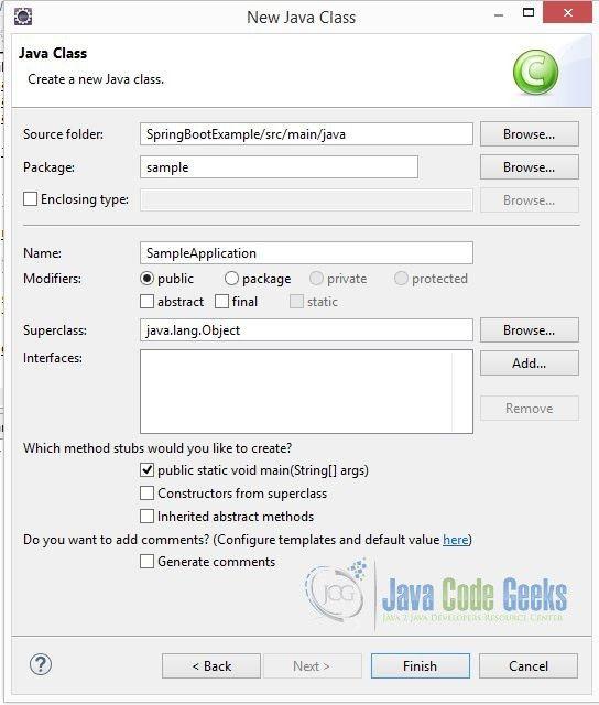 Spring Boot Tutorial for beginners | Examples Java Code Geeks - 2017