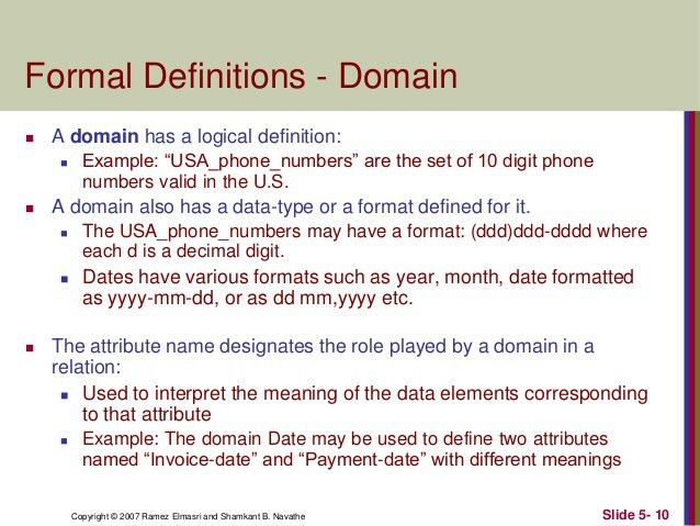 4 the relational data model and relational database constraints