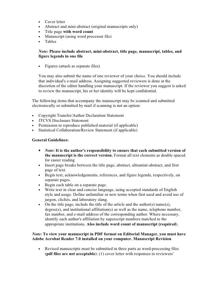 Best Ideas of Journal Cover Letter Sample Pdf On Format Sample ...