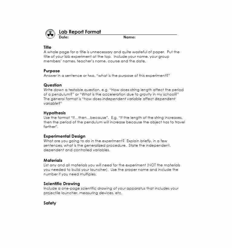Report Format Template - Contegri.com