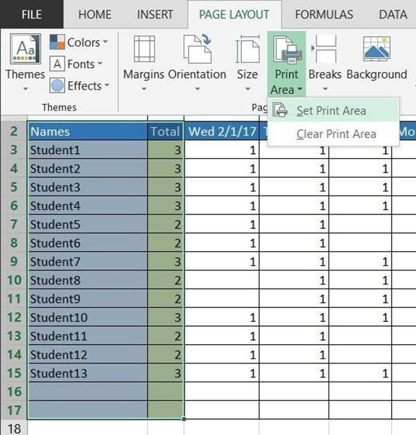 How to Create a Basic Attendance Sheet in Excel « Microsoft Office ...