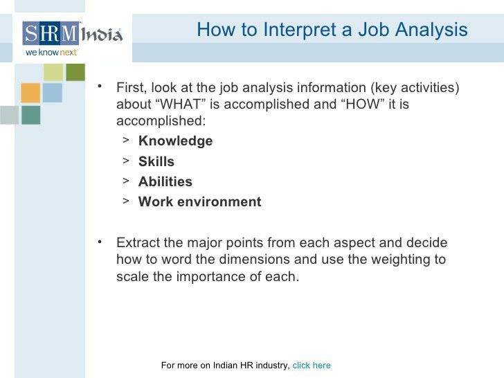 HR Knowledge: Job Analysis_How to Figure Out What the Job Actually En…