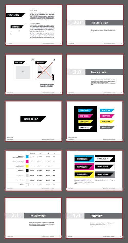 Free Brand Style Guide by InkBotDesign ⋆ FRESHFREESTUFF.NET