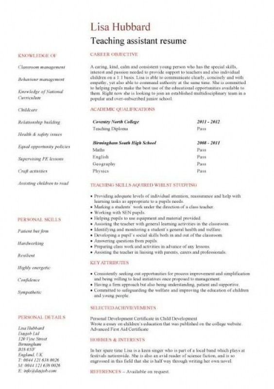 No Experience Resume Sample – Resume Examples