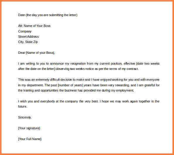 5+ resignation letter microsoft template | Resignition Letter