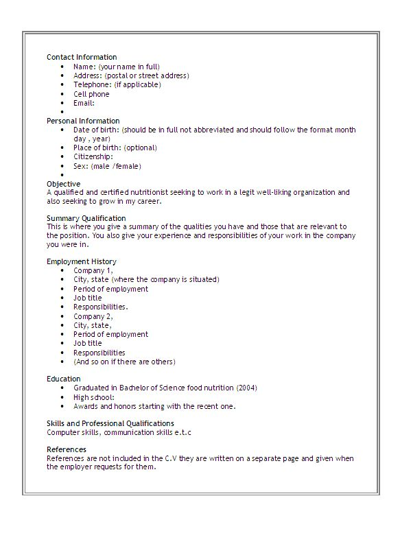 writing my skills resume how to write a qualifications summary ...