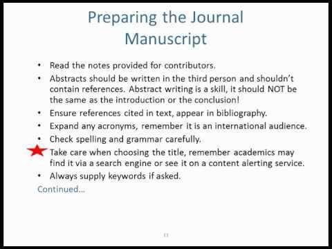 Articles for Publication — ScholarShape