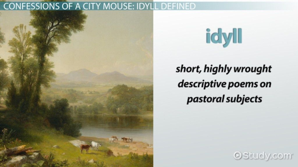 Idyll in Poetry: Definition & Examples - Video & Lesson Transcript ...