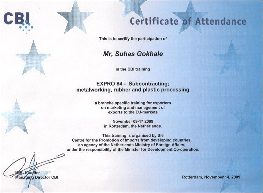 10 Best Images of Certificate Of Attendance - Attendance ...