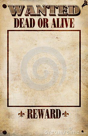 Missing Reward Poster Template [Nfgaccountability.com ]
