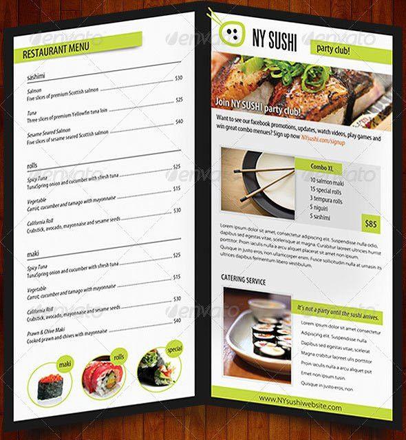 20+ Free & Premium Restaurant Menu Templates (PSD) – Design Blog