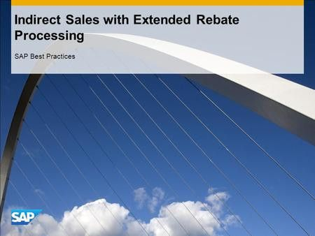 Sales Order Processing for Prospect SAP Best Practices. - ppt download