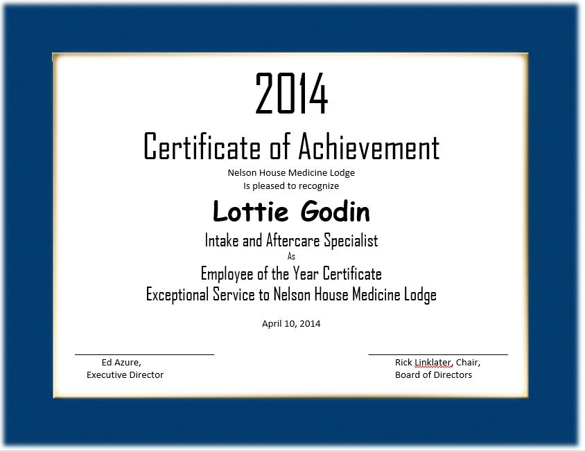 37 Awesome Award And Certificate Design Templates For Employee .  Best Employee Certificate Sample