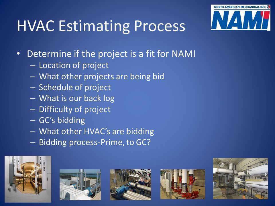 Mechanical Estimating Presented by North American Mechanical, Inc ...