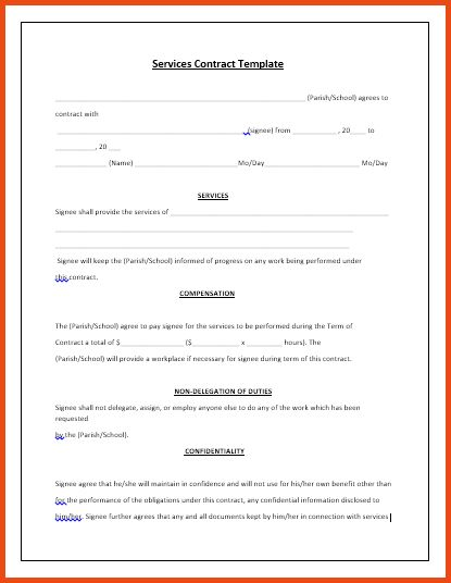 Service Contract Templates.consignment Agreement Template 1.png ...