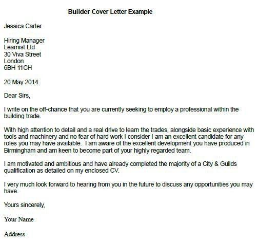 Resume Cover Letter Builder - uxhandy.com