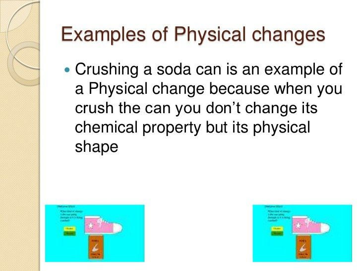 John Castaner 2nd period physical and chemical changes