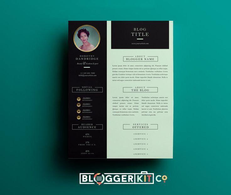 Electronic Press Kit Template | Template Design