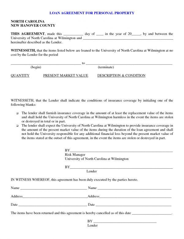 Friendly Loan Agreement Sample Friendly Loan Agreement Sample ...
