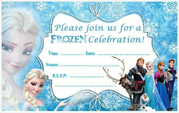 Party Invitations Frozen - iidaemilia.Com