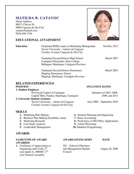 The Elegant How To Prepare My Resume | Resume Format Web