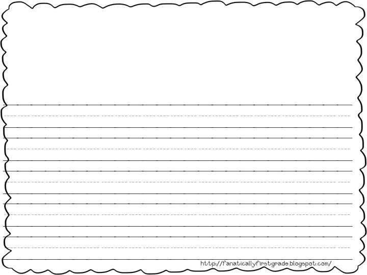 Blank Writing Sheets For First Graders 2017 - Dakota bunbury ...