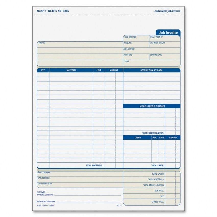 Download Labor Invoice Template Free | rabitah.net
