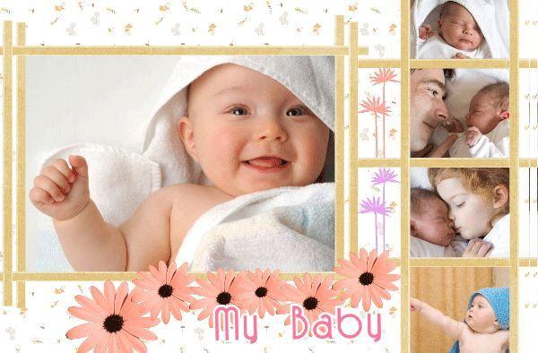 Beautiful Baby Photo Album – 20+ Free PSD, AI, Vector EPS Format ...