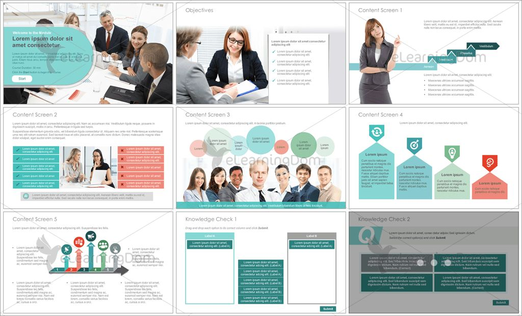 Articulate Storyline Course Starter Templates for Instructional ...