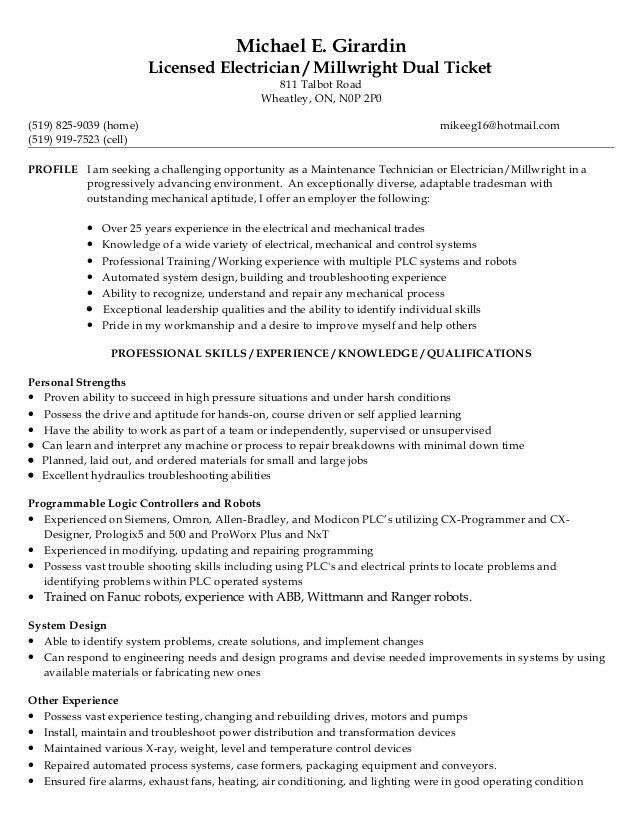 Mike Resume 2015