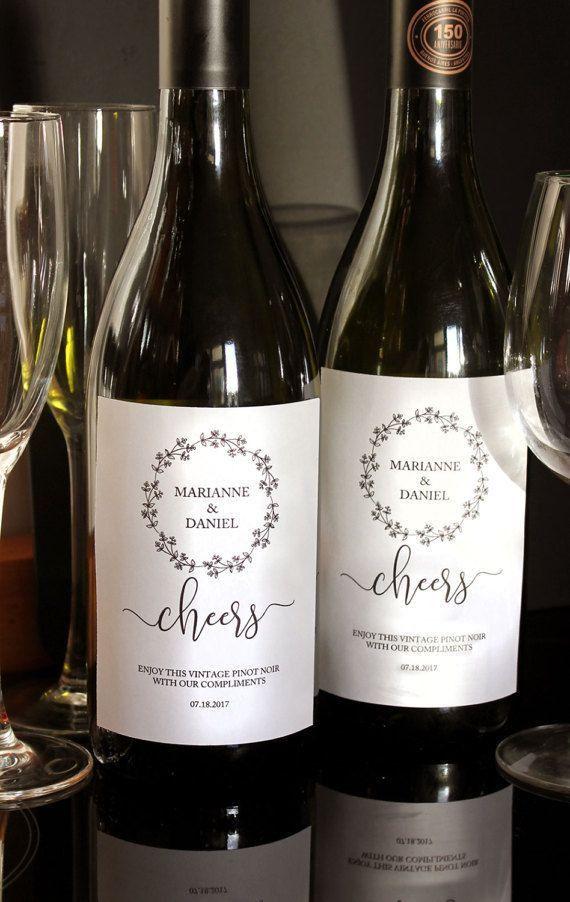 Best 25+ Wedding wine labels ideas on Pinterest | Personalized ...