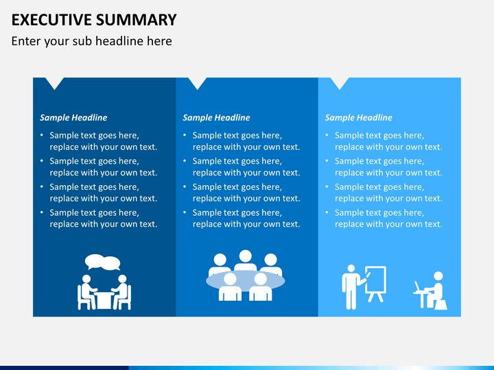 executive summary template powerpoint executive summary powerpoint ...