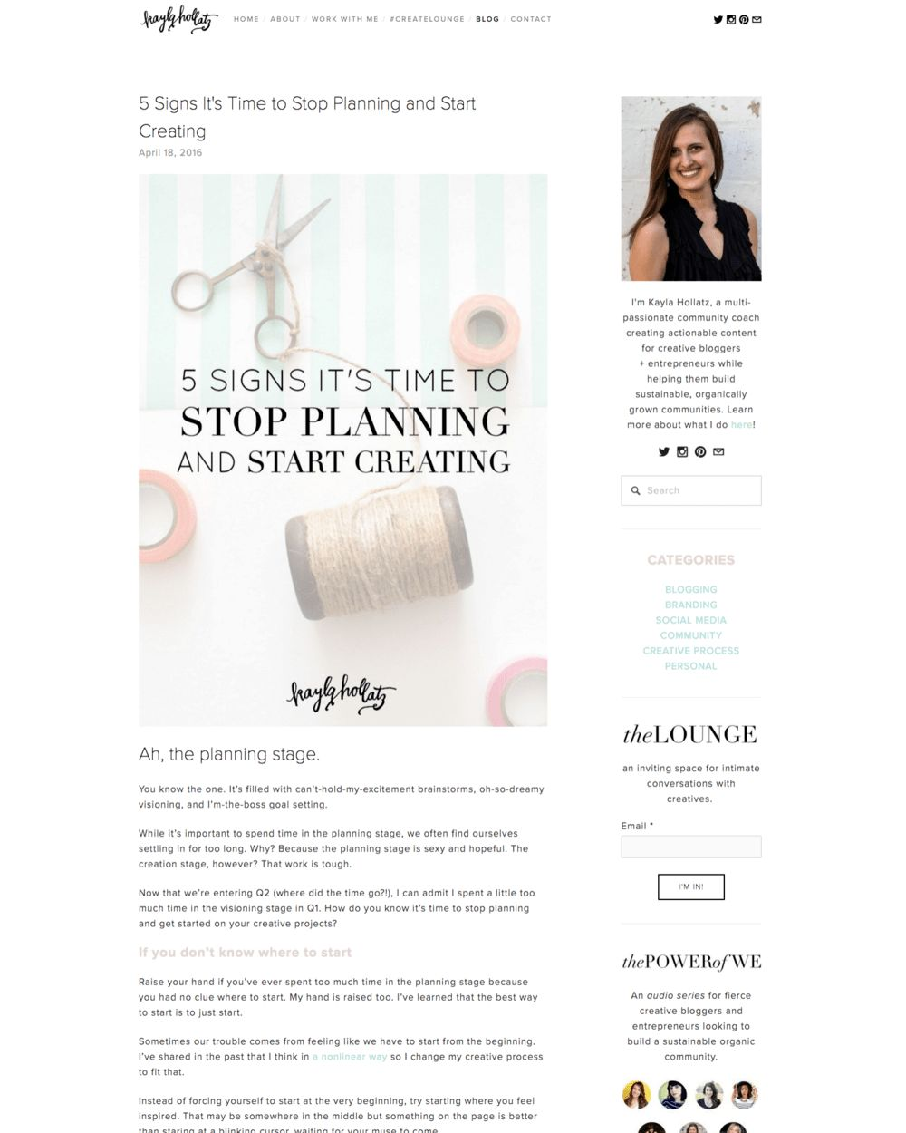 The Best Squarespace Templates (and what you need to do before you ...