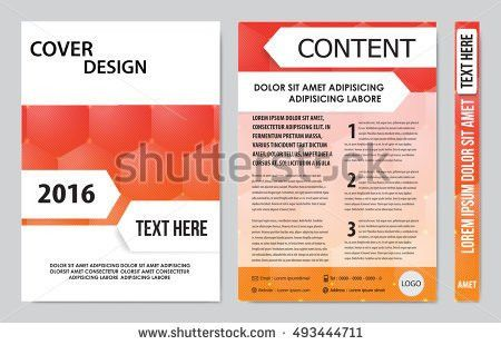 Cover Sheet Cover Note Book Cover Stock Vector 475645543 ...