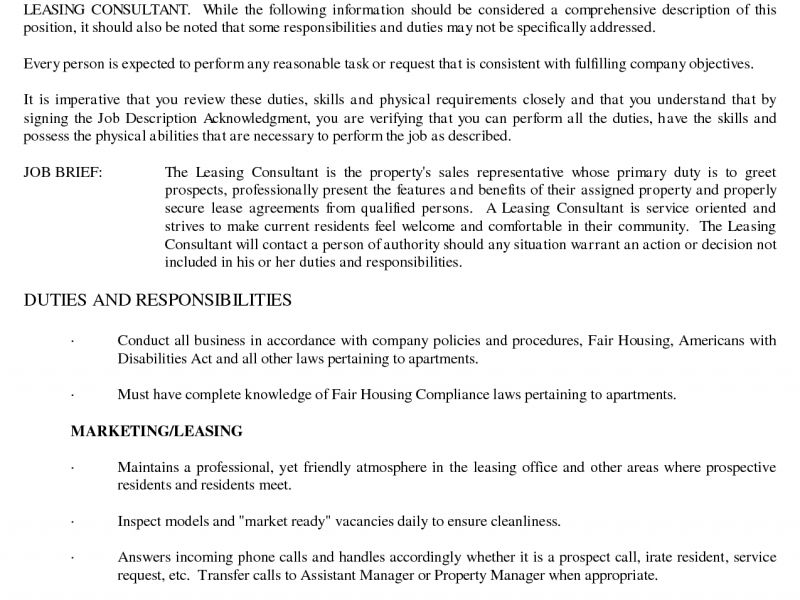 strikingly design leasing agent resume 7 amusing apartment leasing - Leasing Manager Resume