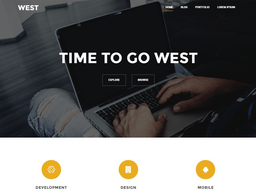 30+ Best Free One Page WordPress Themes 2017 - aThemes