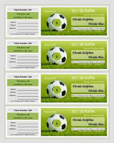 Soccer-Charity-Match-Raffle | RaffleTix | Pinterest | Custom ...