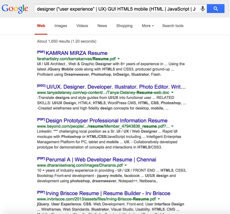How to Find Resumes on Google and Bing | Travis Scott | Pulse ...