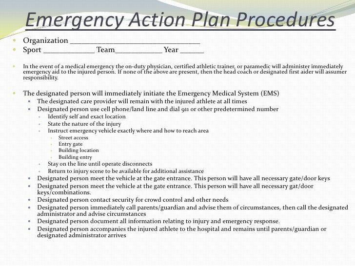Emergency Situations And Injury Assessmentsp2010 Student, Sports ...